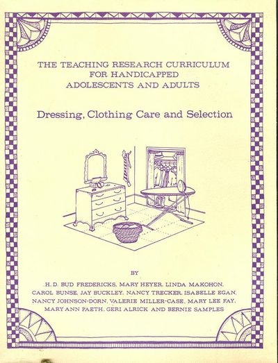 Dressing, Cloting Care and Selection